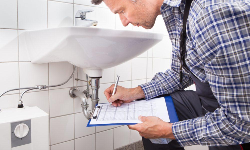 Evaluation de l'état de la plomberie
