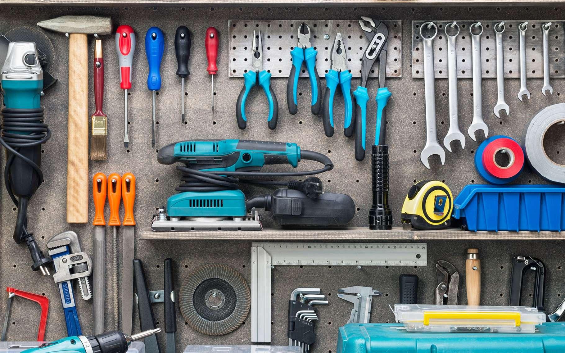 Magasin d'équipement d'outils électroportatifs